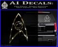 Star Trek Decal Sticker – Sciences 3DC Vinyl 120x97