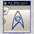 Star Trek Decal Sticker – Sciences Blue Vinyl 120x120