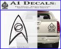 Star Trek Decal Sticker – Sciences CFB Vinyl 120x97