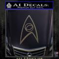 Star Trek Decal Sticker – Sciences CFC Vinyl 120x120