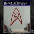 Star Trek Decal Sticker – Sciences DRD Vinyl 120x120