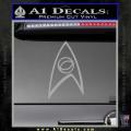 Star Trek Decal Sticker – Sciences Grey Vinyl 120x120