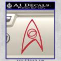 Star Trek Decal Sticker – Sciences Red Vinyl 120x120