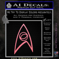 Star Trek Decal Sticker – Sciences Soft Pink Emblem 120x120
