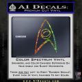 Star Trek Decal Sticker – Sciences Spectrum Vinyl 120x120