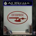 Star Trek Enterprise Decal Sticker Euro DRD Vinyl 120x120