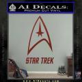 Star Trek Full Emblem Decal Sticker DRD Vinyl 120x120
