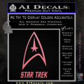 Star Trek Full Emblem Decal Sticker Soft Pink Emblem 120x120