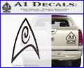 Star Trek Insignia Engineering Decal Sticker CFB Vinyl 120x97