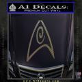 Star Trek Insignia Engineering Decal Sticker CFC Vinyl 120x120