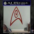 Star Trek Insignia Engineering Decal Sticker DRD Vinyl 120x120