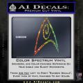 Star Trek Insignia Engineering Decal Sticker Spectrum Vinyl 120x120