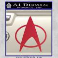 Star Trek Insignia The Next Generation Decal Sticker Red Vinyl 120x120