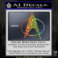 Star Trek Insignia The Next Generation Decal Sticker Spectrum Vinyl 120x120