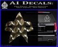 Star Trek Insignia Voyager Decal Sticker 3DC Vinyl 120x97