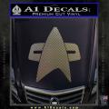 Star Trek Insignia Voyager Decal Sticker CFC Vinyl 120x120