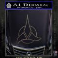 Star Trek Klingon Command Decal Sticker CFC Vinyl 120x120