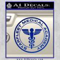 Starfleet Medical Academy Star Trek Decal Sticker Blue Vinyl 120x120