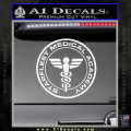 Starfleet Medical Academy Star Trek Decal Sticker White Vinyl 120x120