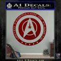 Starfleet Seal Alternate Reality Decal Sticker DRD Vinyl 120x120