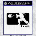 Street Fighter Haudouken D1 Decal Sticker Black Vinyl 120x120