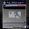 Street Fighter Haudouken D1 Decal Sticker Grey Vinyl 120x120