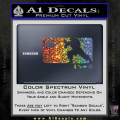 Street Fighter Haudouken D1 Decal Sticker Spectrum Vinyl 120x120