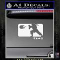 Street Fighter Haudouken D1 Decal Sticker White Vinyl 120x120
