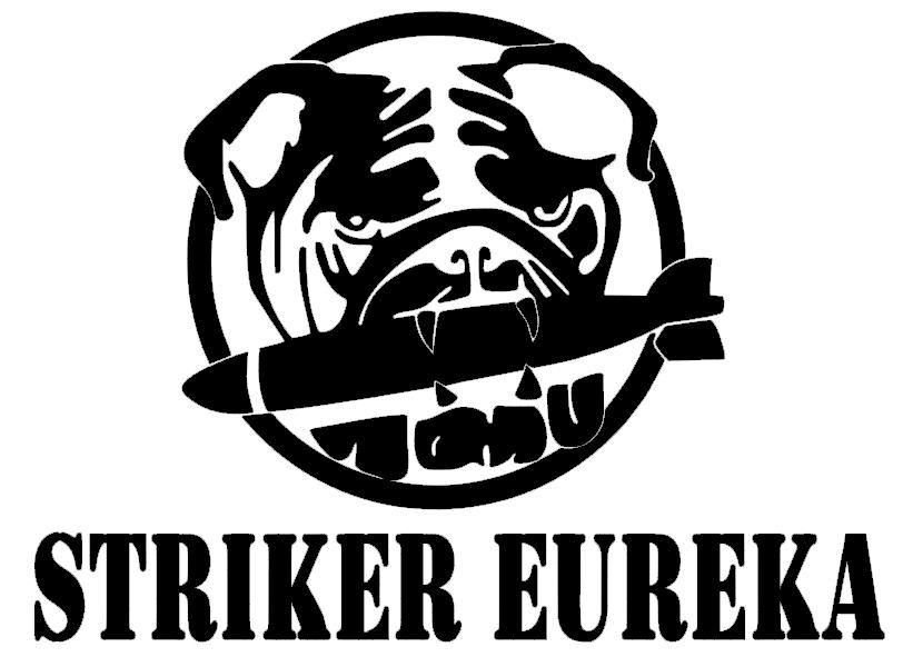 Striker Eureka Pacific Rim V2 Decal Sticker