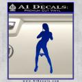Stripper Panty Dropper JDM Decal Sticker Blue Vinyl 120x120