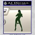 Stripper Panty Dropper JDM Decal Sticker Dark Green Vinyl 120x120