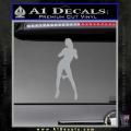 Stripper Panty Dropper JDM Decal Sticker Grey Vinyl 120x120