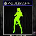 Stripper Panty Dropper JDM Decal Sticker Neon Green Vinyl 120x120