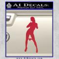 Stripper Panty Dropper JDM Decal Sticker Red Vinyl 120x120