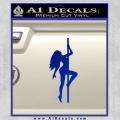 Stripper Pole Decal Sticker D1 Blue Vinyl 120x120