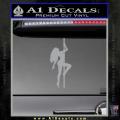 Stripper Pole Decal Sticker D1 Grey Vinyl 120x120