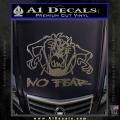 Taz No Fear Decal Sticker Tasmanian Devil CFC Vinyl 120x120