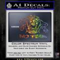 Taz No Fear Decal Sticker Tasmanian Devil Spectrum Vinyl 120x120