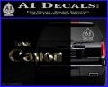 Team Canon D1 Decal Sticker 3DC Vinyl 120x97