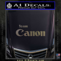 Team Canon D1 Decal Sticker CFC Vinyl 120x120