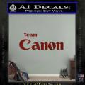 Team Canon D1 Decal Sticker DRD Vinyl 120x120