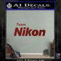 Team Nikon D1 Decal Sticker DRD Vinyl 120x120