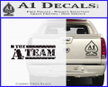 The A Team D1 Decal Sticker CFB Vinyl 120x97