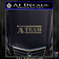 The A Team D1 Decal Sticker CFC Vinyl 120x120