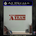 The A Team D1 Decal Sticker DRD Vinyl 120x120