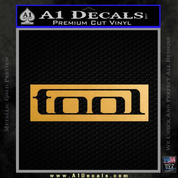 Tool Band Logo New Decal Sticker 187 A1 Decals