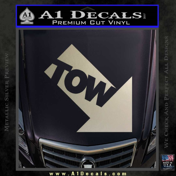 Tow Point Decal Sticker Jdm 187 A1 Decals