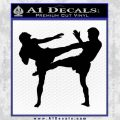 UFC Fighters Decal Sticker Standing Black Vinyl 120x120