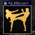 UFC Fighters Decal Sticker Standing Gold Vinyl 120x120