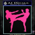UFC Fighters Decal Sticker Standing Pink Hot Vinyl 120x120